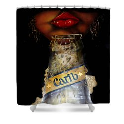 Carib Beer Shower Curtain