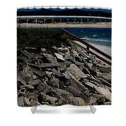 Caribbean Colors Shower Curtain by Greg Patzer