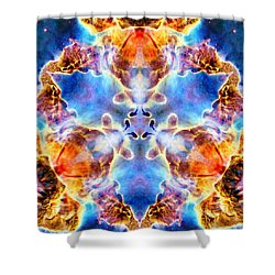 Carina Nebula Vi Shower Curtain