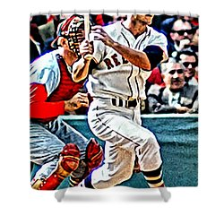 Carl Yastrzemski Shower Curtain