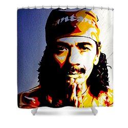 Carlos Santana. Shower Curtain