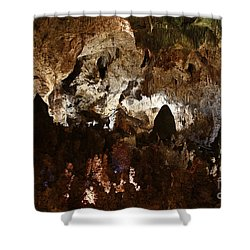 Carlsbad Caverns #2 Shower Curtain by Kathy McClure