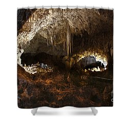Carlsbad Caverns #3 Shower Curtain by Kathy McClure