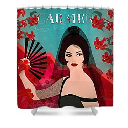 Carmen - Limited Edition 1 Of 15 Shower Curtain
