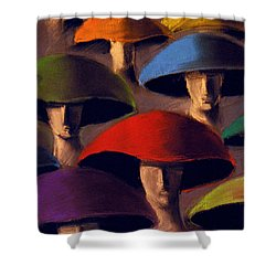 Carnaval Shower Curtain by Mona Edulesco