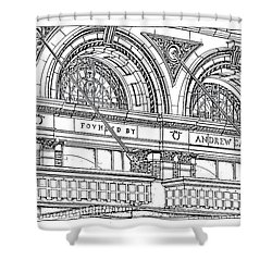 Carnegie Hall Shower Curtain by Ira Shander
