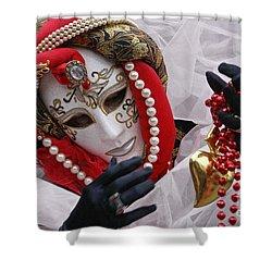 Carnevale Di Venezia  1 Shower Curtain