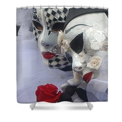 Carnevale Di Venezia 119 Shower Curtain