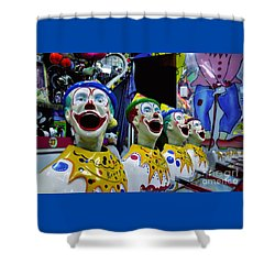 Carnival Clowns Shower Curtain