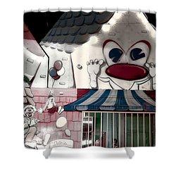 Carnival Fun House Shower Curtain