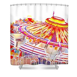 Shower Curtain featuring the photograph Carnival Sombrero by Marianne Dow