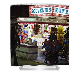 Carnival Souvenirs Shower Curtain by Jason O Watson