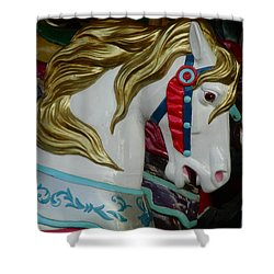 Carnival Steed Shower Curtain