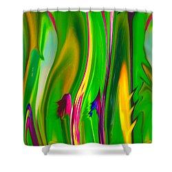 Carnivorous Shower Curtain