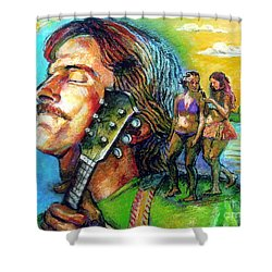 Carolina On My Mind Shower Curtain by Stan Esson