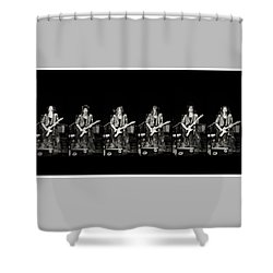 Carolyn Wonderland Rockin' Shower Curtain