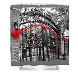 Carousel Gardens - New Orleans City Park Shower Curtain