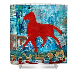 Carousel Shower Curtain