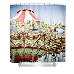 Carousel Top Shower Curtain