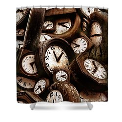 Carpe Diem - Time For Everyone Shower Curtain