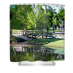 Carpenters Park 3 Shower Curtain