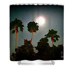 Carribean Romance Shower Curtain by John Malone