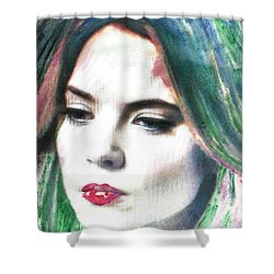 Carrie Stages Shower Curtain