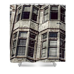 Shower Curtain featuring the photograph Carson Block by Melanie Lankford Photography