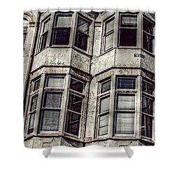 Carson Block Shower Curtain by Melanie Lankford Photography