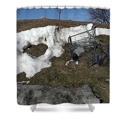 Cart Art No. 19 Shower Curtain