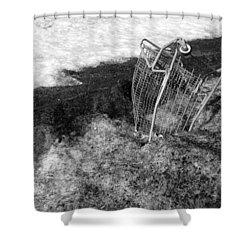 Cart Art No. 9 Shower Curtain