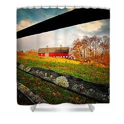 Carter Farm Connecticut Shower Curtain