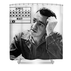Caryl Chessman Shower Curtain by Underwood Archives
