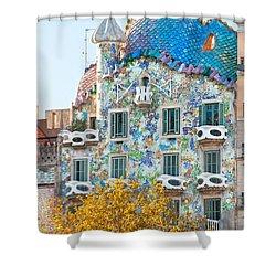 Casa Batllo - Barcelona Shower Curtain