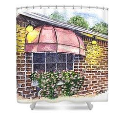 Casa De Pasta Shower Curtain by Carol Wisniewski