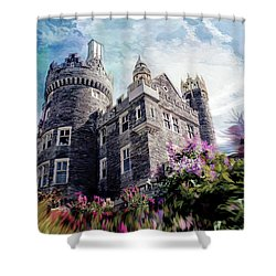 Casa Loma Series 08 Shower Curtain