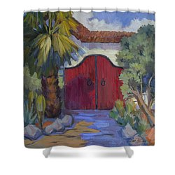 Casa Tecate Gate 2 Shower Curtain