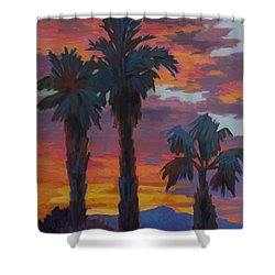 Casa Tecate Sunrise 2 Shower Curtain