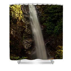 Cascade Falls Bc I Shower Curtain by Sabine Edrissi