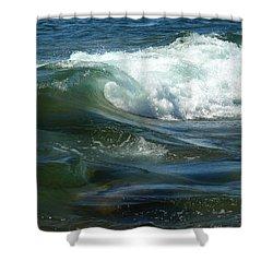 Cascade Wave Shower Curtain