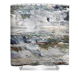 Cascading Water 2 Shower Curtain