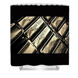 Case Of Harmonicas  Shower Curtain