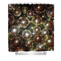 Shower Curtain featuring the photograph Casino Sparkle Interior Decorations by Navin Joshi