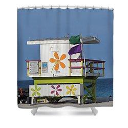 Casita De Playa Shower Curtain