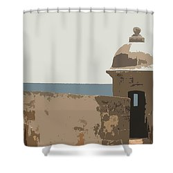 Casita Shower Curtain