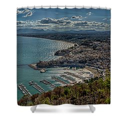 Castellammare Del Golfo Shower Curtain