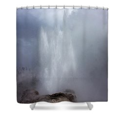 Castle Geyser In June Shower Curtain