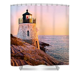 Castle Hill Light 3 Shower Curtain