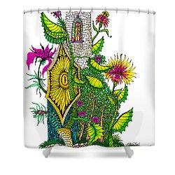Castle Lock Shower Curtain