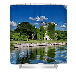Castle Menlo  Shower Curtain